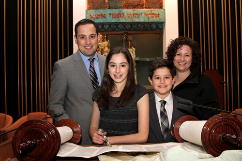 Bat Mitzvah photo
