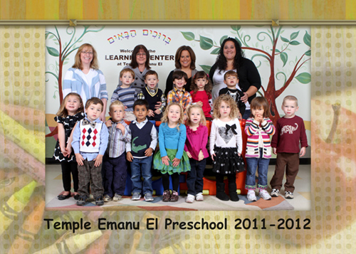 Pre-school class photo